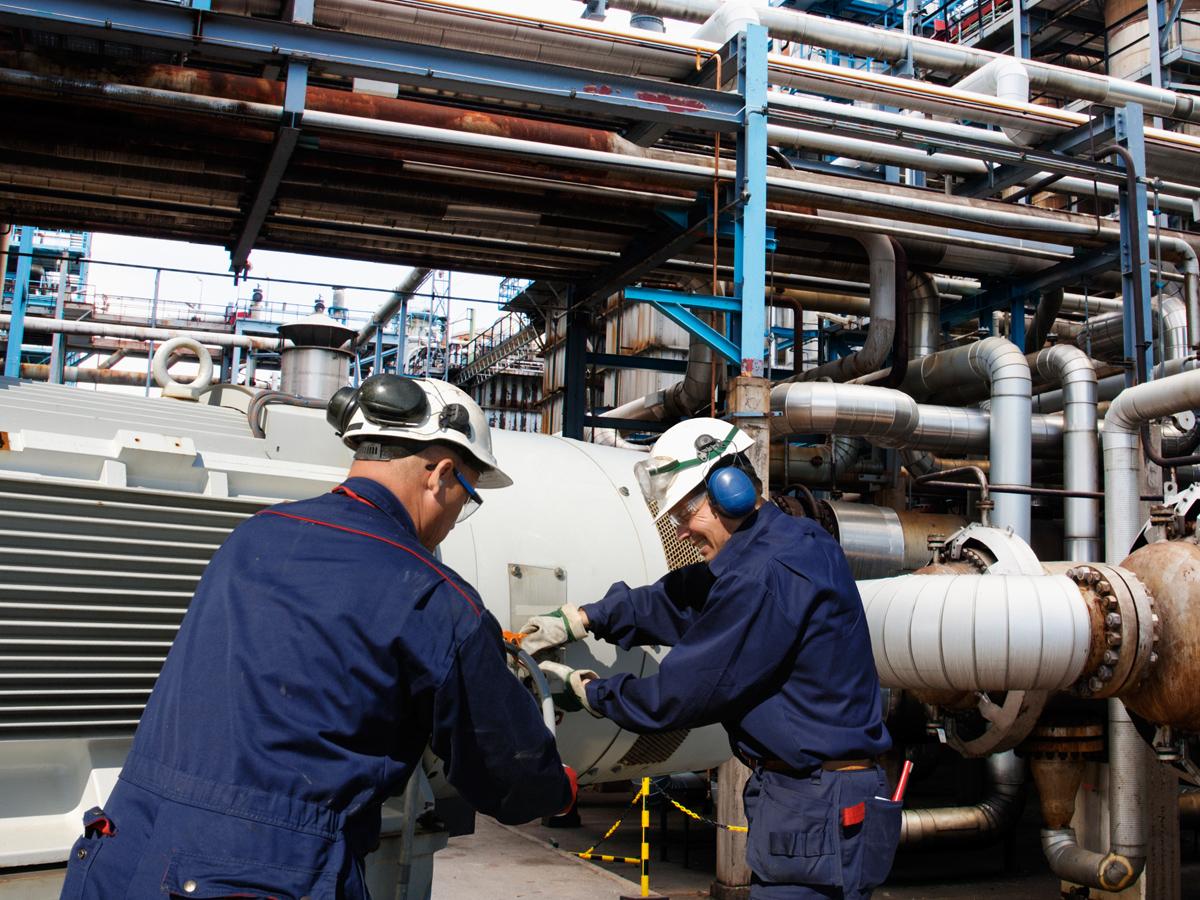 Export van petrochemische producten